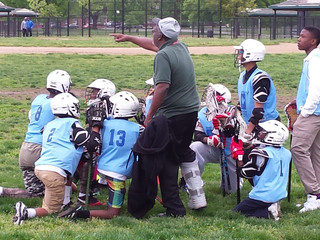 Franklin Square Elementary Middle School Defeats Calverton in boy's lacrosse 5 to 0 in the Balti