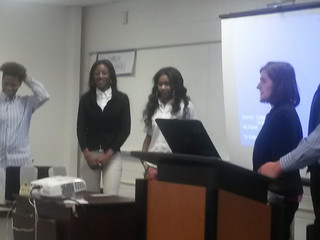 Patterson High and Howard County ARL Present Their Business Plans in a Competition.