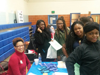 CristataCares participates in Health Fair at Vivien T. Thomas Medical Arts Academy