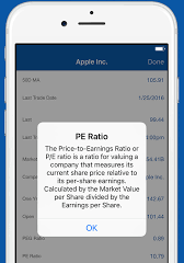 We are pleased to announce our first financial app at App Store.