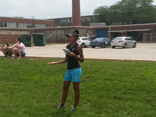 CristataCares sponsors Ms. Samyra Lewis at Patterson High School Summer Day Golf Workshop