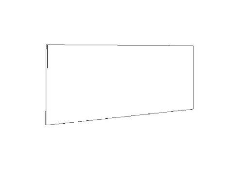 "Bar Back Panel - 96"" x 36 x 3/4"""