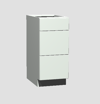 3 Drawer Bank 21""