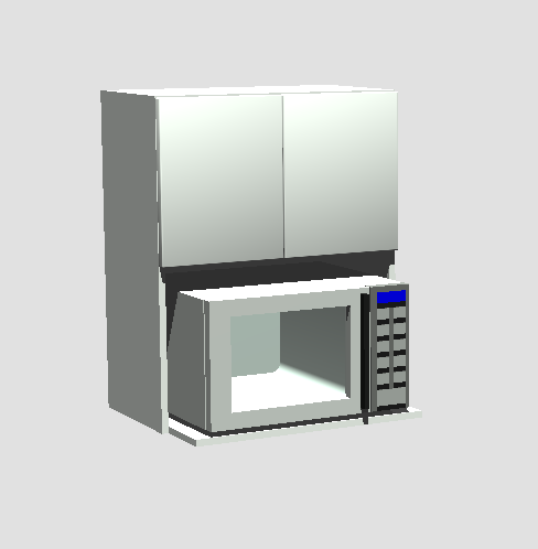 """Microwave 24"""" x 30"""""""