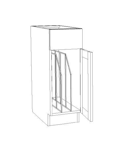 "Base Tray Cabinet - 12"""