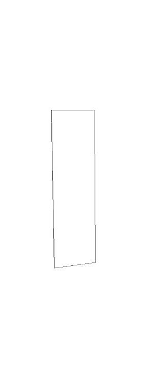 "Refridgerator Panel - 27"" x 96"" x 3/4"""