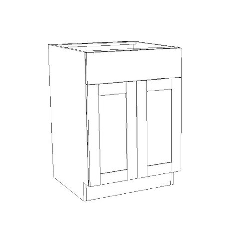 Base Drawer w Double Doors - B33