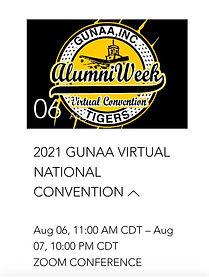 GUNAA Alumni Week 2021