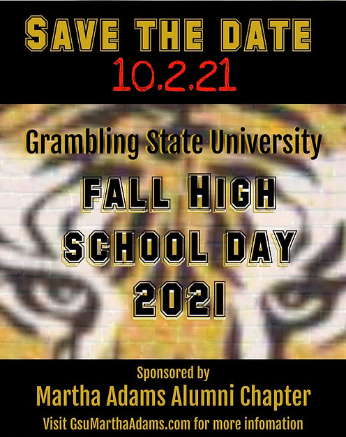 HSD Fall 2021 Save The Date