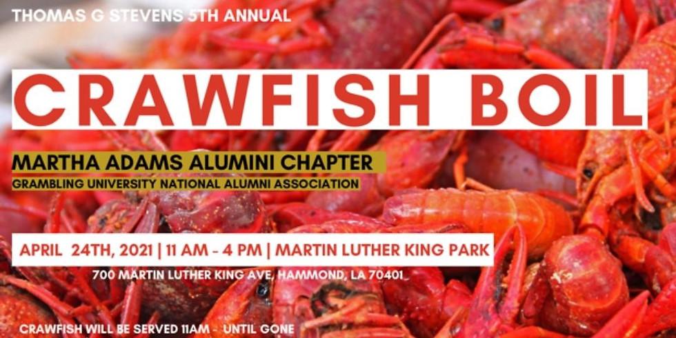 Thomas G. Stevens 5th Annual Crawfish Boil
