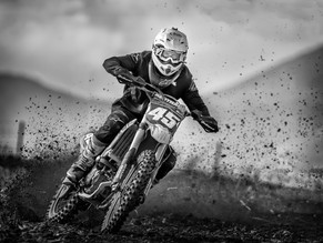MONO: 'MX Racer' by Robert Sergeant - Central Photographic Association