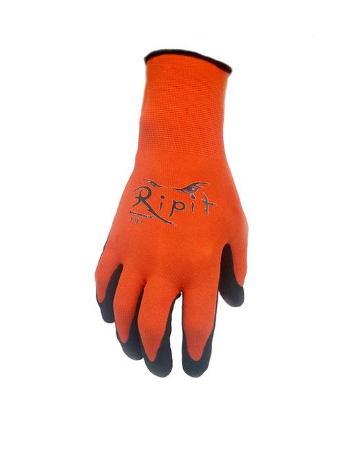 Orange Ultra Lightweight Sandy Nitrile-Coated Glove