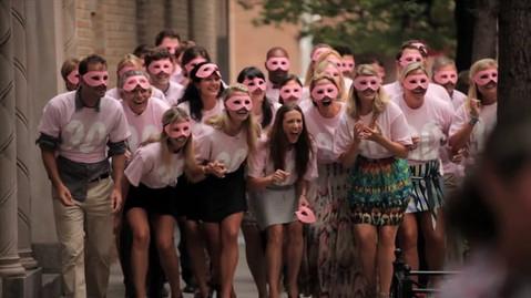 B-Day Suprise Flash Mob