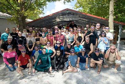 Solar Eclipse Dive @ Mermet Springs