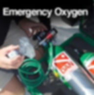 Emergency ozygen for Scuba Diving Injuries