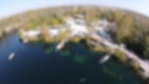 Mermet Springs from the air