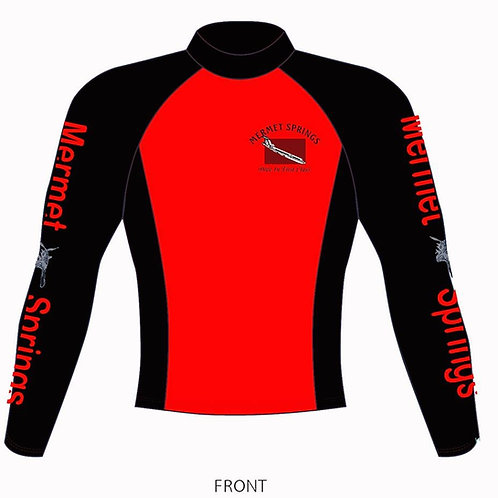Black & Red Mermet Springs Rashguard
