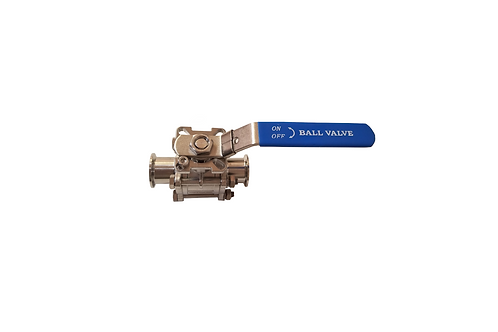 "2"" High Pressure Tri-clamp Ball Valve"