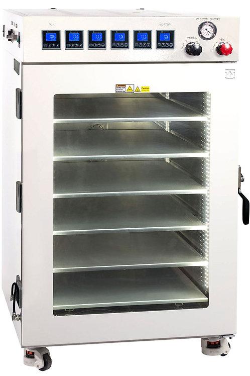 100C UL Certified 16 CF Vacuum Oven w/ 6 Shelves & SST Tubing