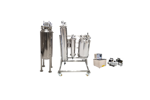 10LB Active Closed Loop Extraction Kit With 200LB tank