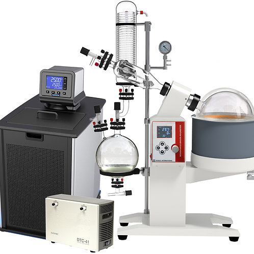 Ai 5L SolventVap w/ PolyScience AD Chiller, ULVAC PTFE Pump 110V