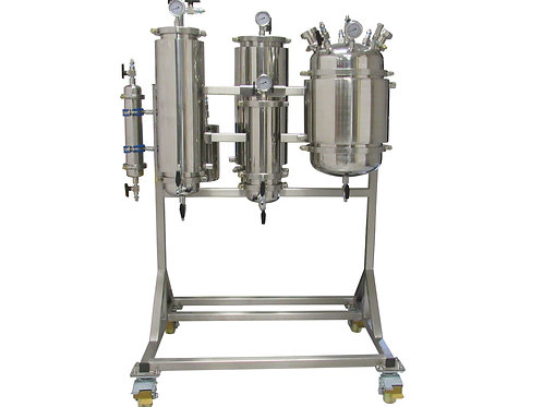 5LB Active Rack Mounted Closed Loop Extractor
