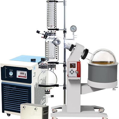 Ai SolventVap 2.6G/10L w/ -30°C Chiller & ULVAC PTFE Pump 220V