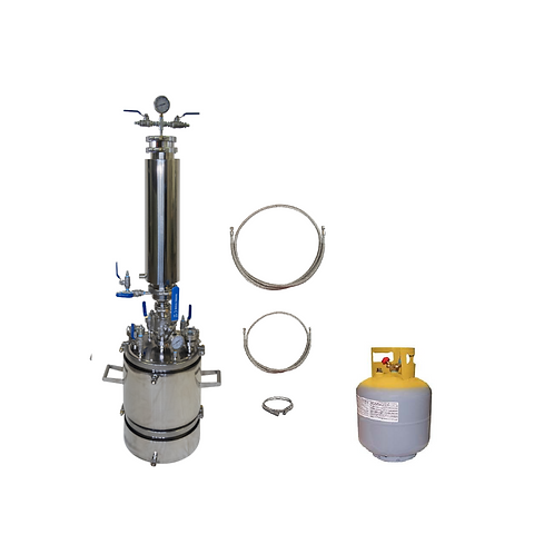 2.5 Lb Bidirectional Flow Closed Loop Extractor With Solvent Tank