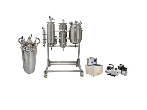 5LB Active Closed Loop Extraction Kit With 100LB Tank