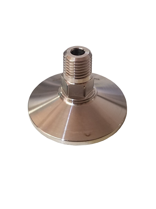 "1.5"" Tri-clamp end cap / adapter"