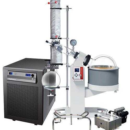 Ai 20L SolventVap w/ PolyScience Chiller & Welch PTFE Pump 220V
