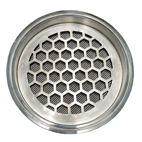 "6"" 1 Micron Sintered Mesh Filter Plate"