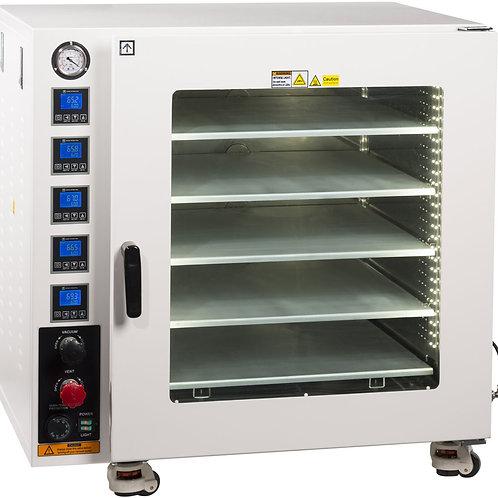 250C UL Certified 7.5 CF Vacuum Oven w/ 5 Shelves & SST Tubing