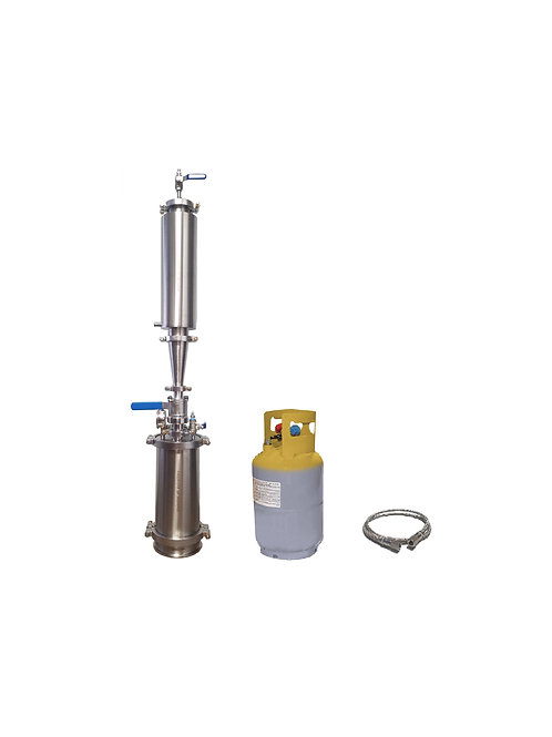 1 LB Closed Loop Extractor With Solvent Tank