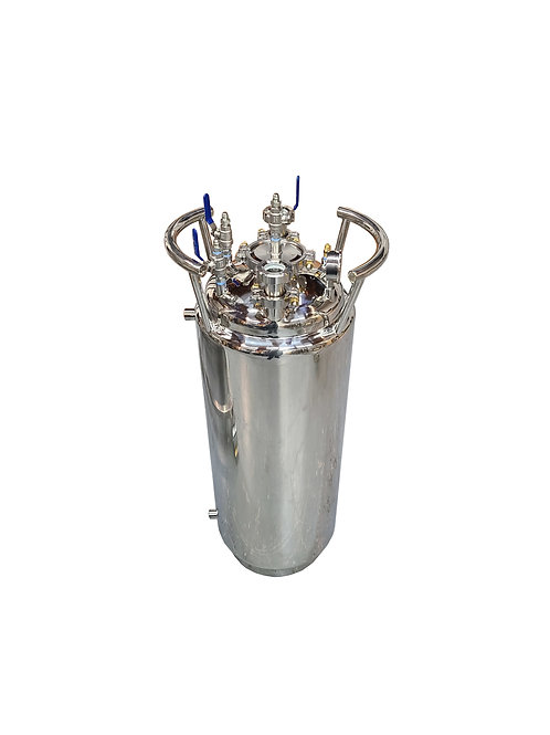 100LB Jacketed Solvent Tank