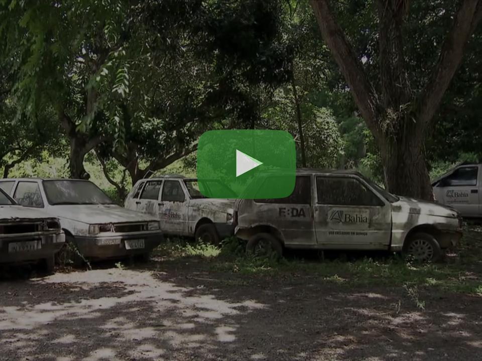 Carros assistência técnica rural da Bahia