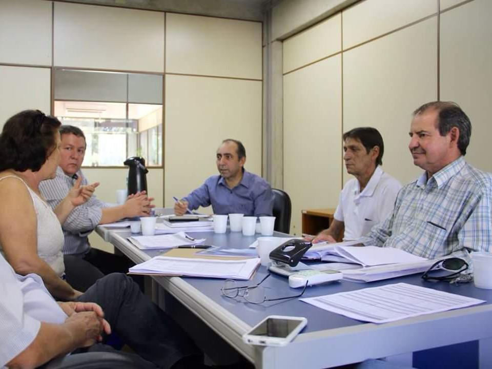 Sinterpa em reunião na Sepaf.