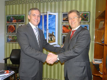 Nova agência do setor de Assistência Técnica e Extensão Rural recebe apoio do deputado Zé Silva