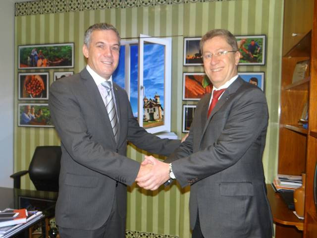 Deputado Zé Silva e Paulo Cabral - Presidente da Anater
