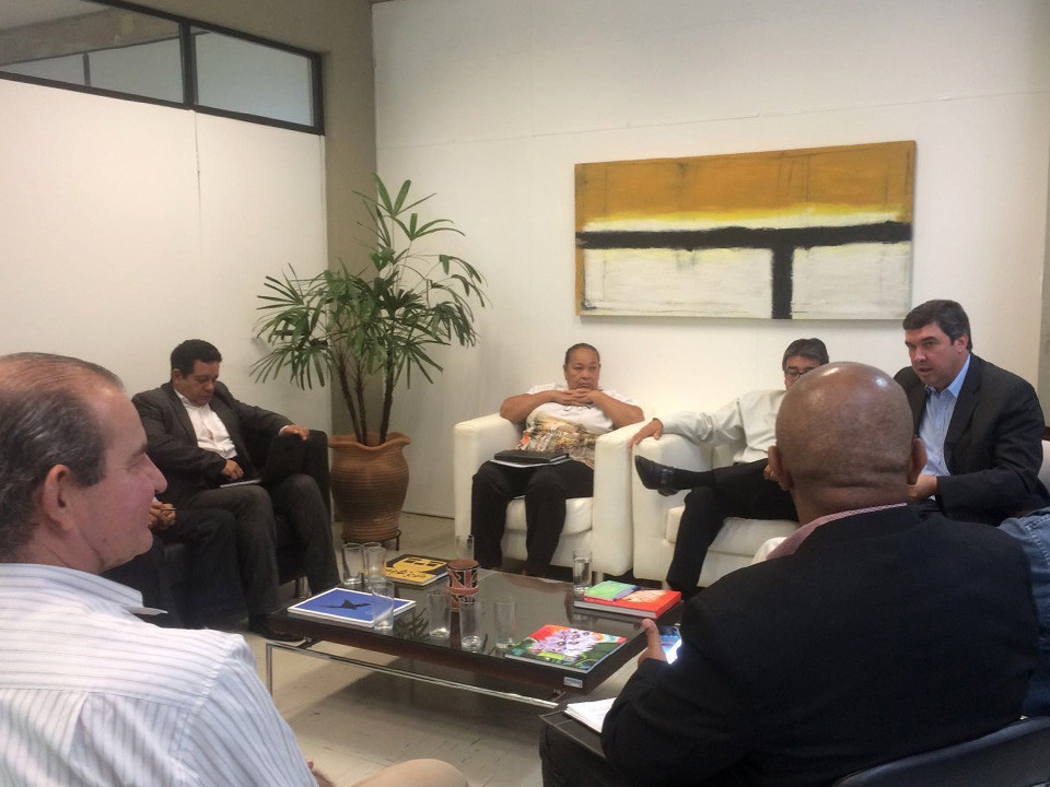 Reunião com a Fersep e representantes do governo