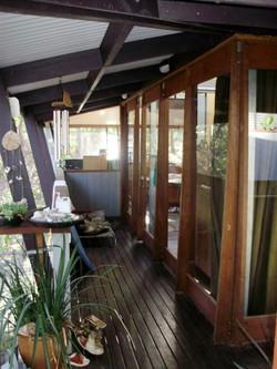 bush house verandah