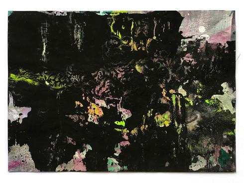 Farbe auf Papier 42 x 30 cm