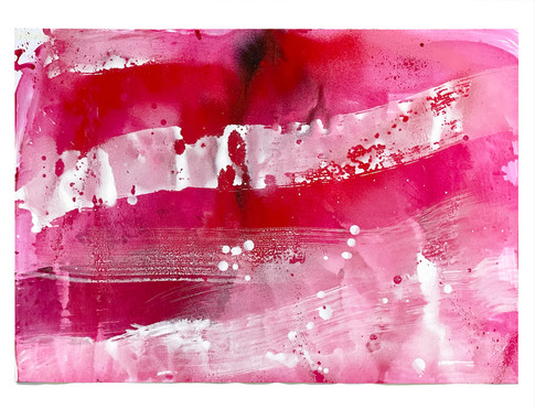 Farbe auf Papier 70 x 50 cm