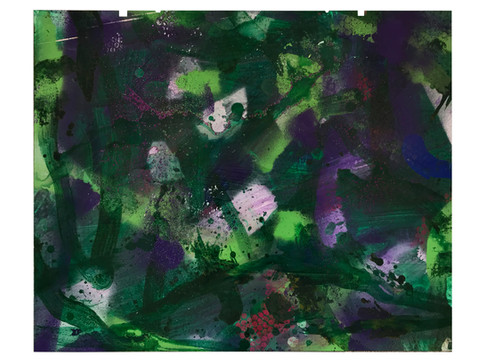 Farbe auf Alu 74,5 x 60,5 cm