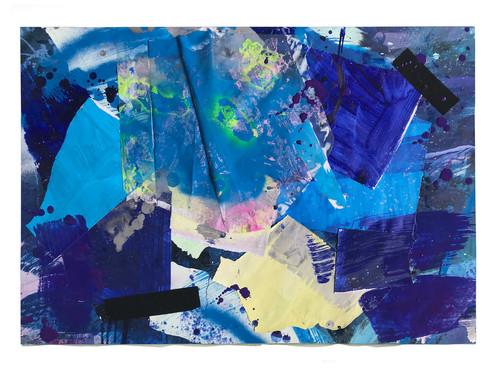 Collage 100 x 70 cm