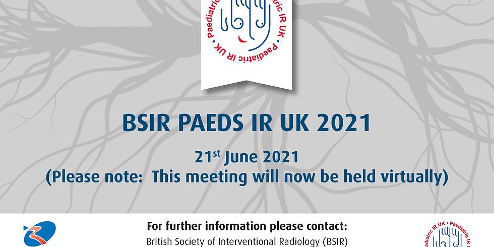 PAEDS IR UK 2021