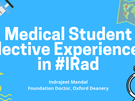Elective Experiences in IR - Indrajeet Mandal
