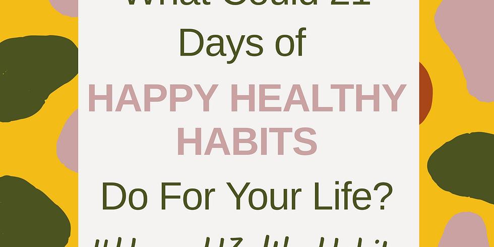 HAPPY HEALTHY Challenge Kickoff