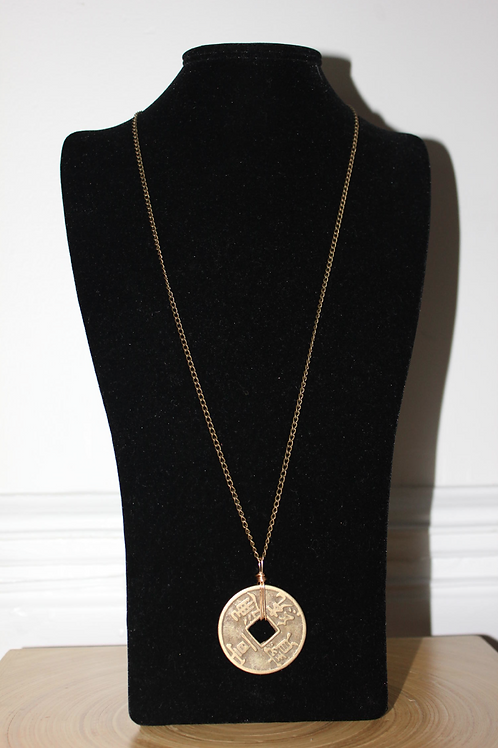 Giant Coin Necklace