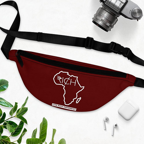 "Africa ""RI¢H"" Fanny Pack (Sangre)"